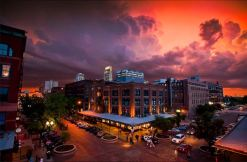 Downtown After the Storm